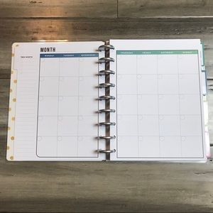 Me & My Big Ideas Other - The Happy Planner Undated Classic Fitness Planner